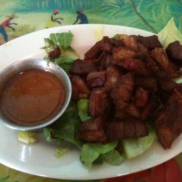 Haitian Goat Tidbits @ Tap Tap Haitian Restaurant