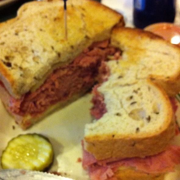 Corned Beef Sandwich @ Jimmy Dee's Restaurant Lounge