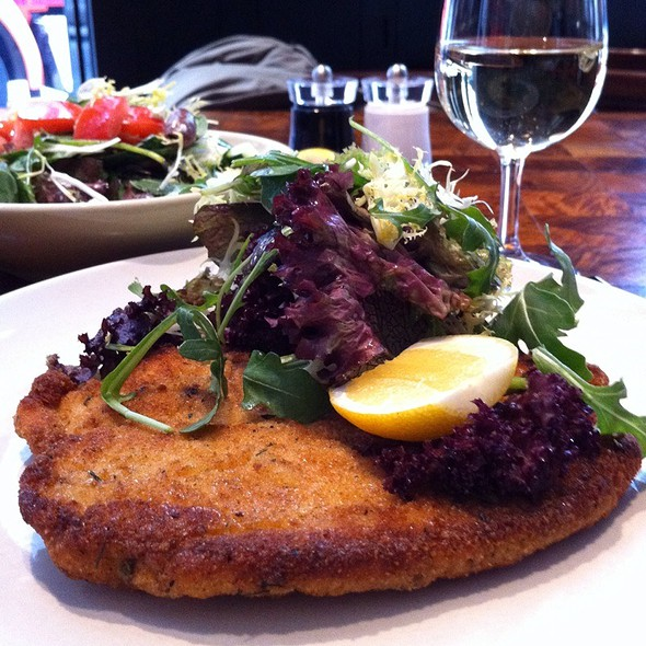 Chicken Schnitzel @ Andaz 5th Avenue
