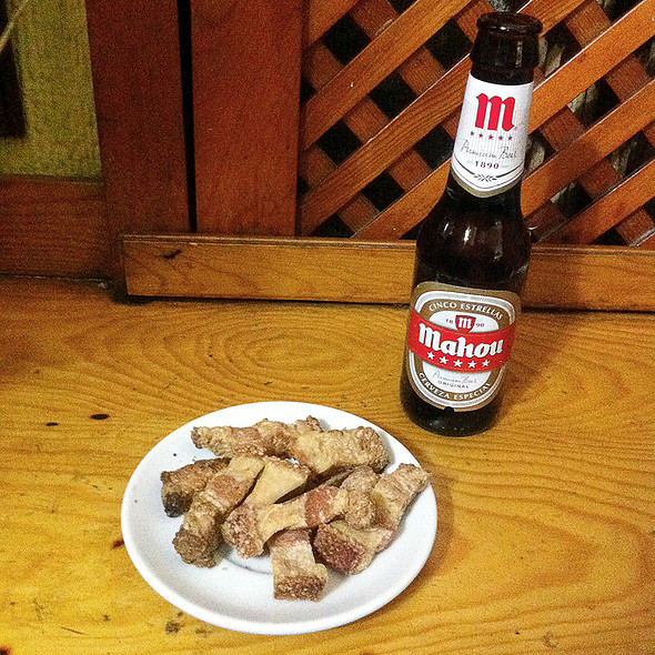 Beer and tapa @ Las Tabernas de Regiones