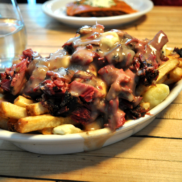 Smoked Meat Poutine @ Mile End Delicatessen