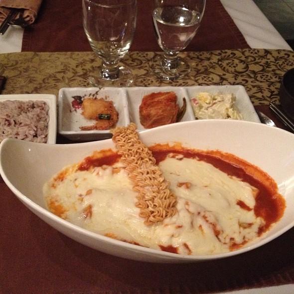 Cheese Tteokbokki @ Atti Restaurants