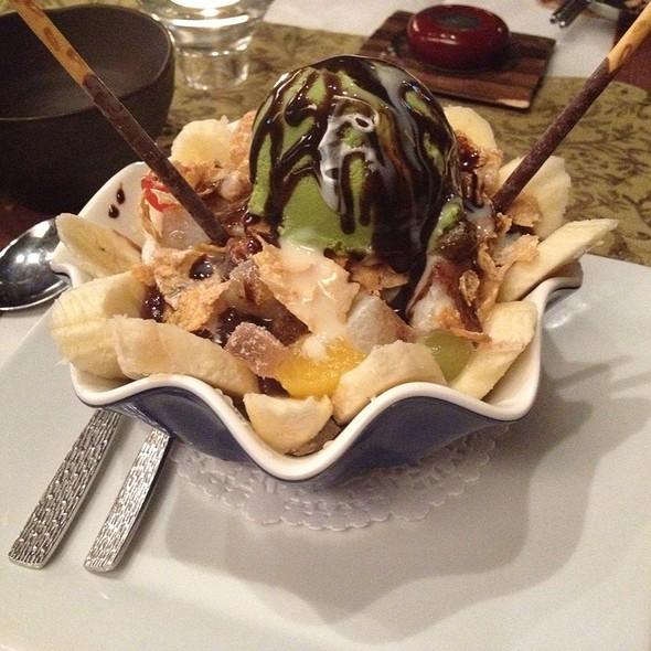 Green Tea Ice Cream @ Atti Restaurants
