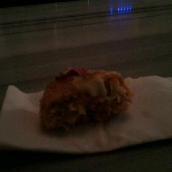 crab cake @ Nyood Restaurant