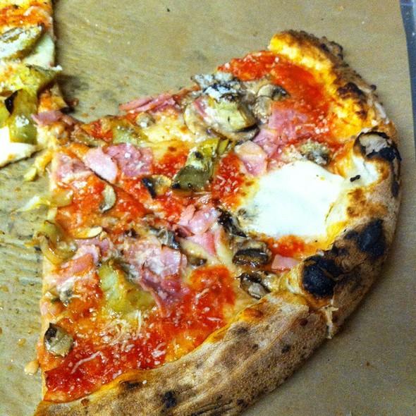 Capricciosa Pizza @ Antico-Pizza Napoletana