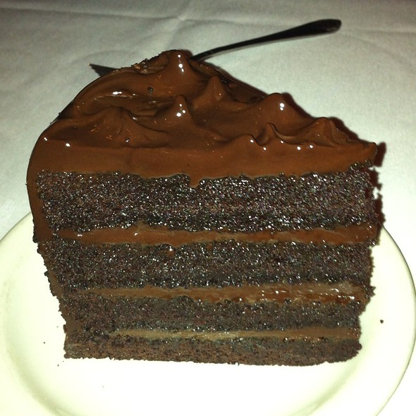 Chocolate Cake - St. Elmo Steak House, Indianapolis, IN