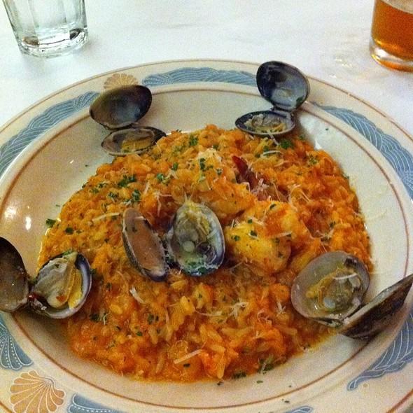 Risotto Al Fruitti Di Mare - Il Pescatore Restaurant, Oakland, CA