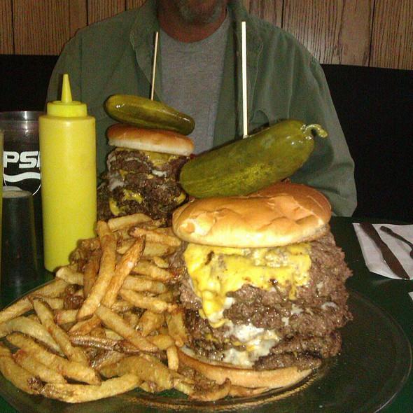 Fire Brick Burger Challenge @ Fire Brick Cafe