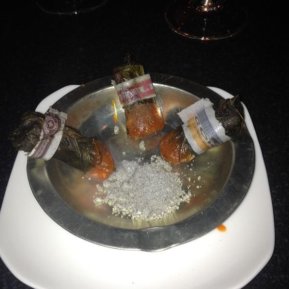 Cuban cigar @ Moto Restaurant