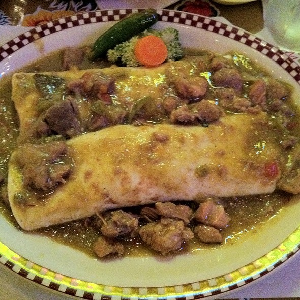 Chile Verde Burritos @ Red Iguana 2