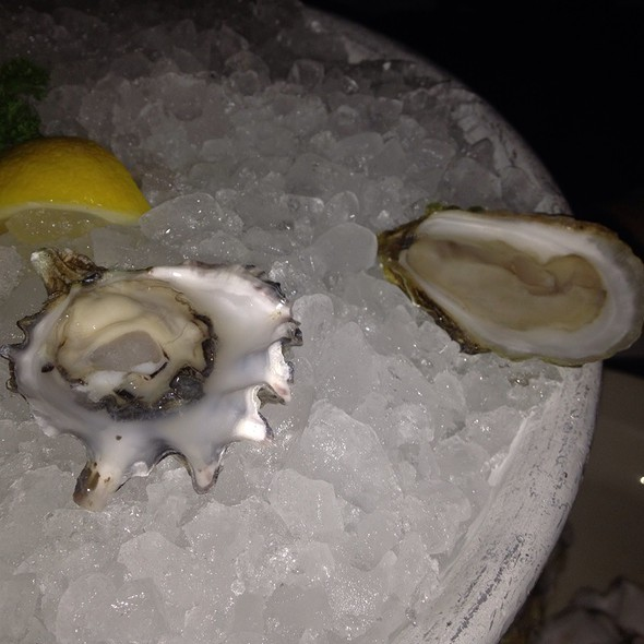 raw oysters @ Blue Ribbon Brasserie