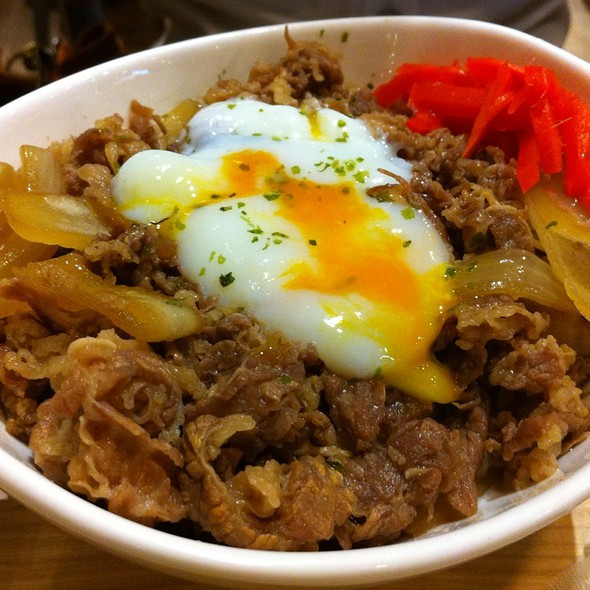 Gyudon With Onsen Egg @ Chounan, Central Ladprao