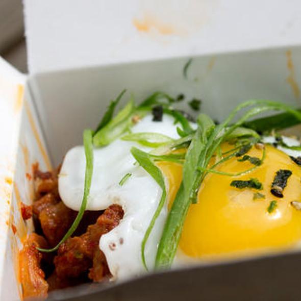 Barbequed Pork Kimchee @ Marination Mobile