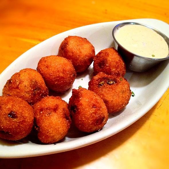 Jalapeno Hush Puppies @ Rockfish Seafood Grill