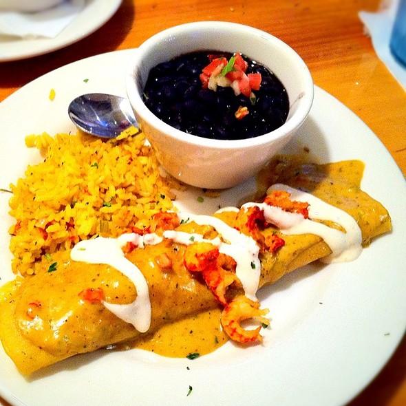 Seafood Enchiladas @ Rockfish Seafood Grill