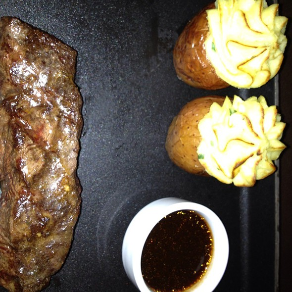 American Kobe Flat Iron Steak @ DUO