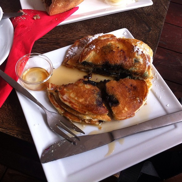Blueberry Pancakes @ Two For Joy Coffee Roasters