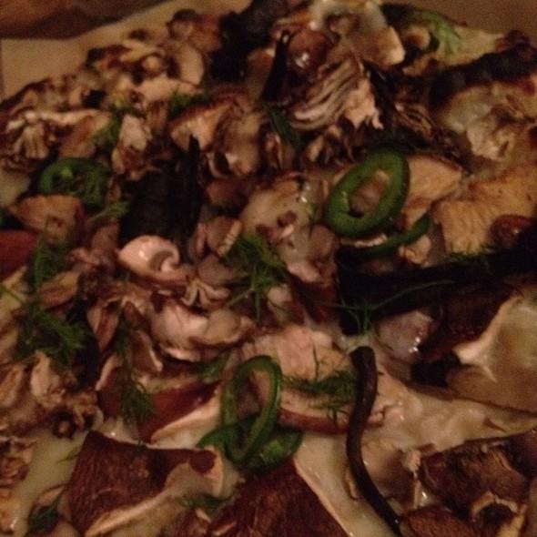 Mushroom & Jalapeno Pizza @ Co.