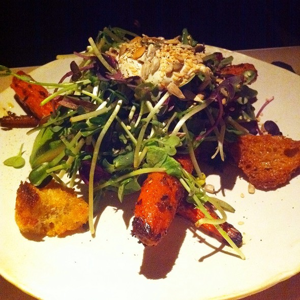 Roast Carrot and Avocado Salad @ ABC Kitchen