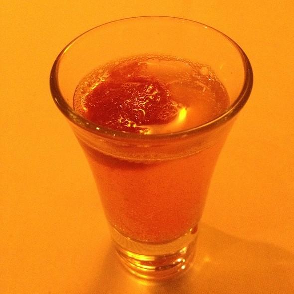 Blood Orange Moscato @ Applewood Inn and Restaurant