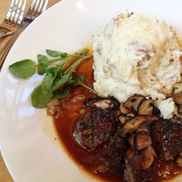 Steak Diane  @ The Cheesecake Factory