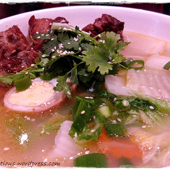 Homemade Thin Noodles ~ Beef @ Dumplings Plus
