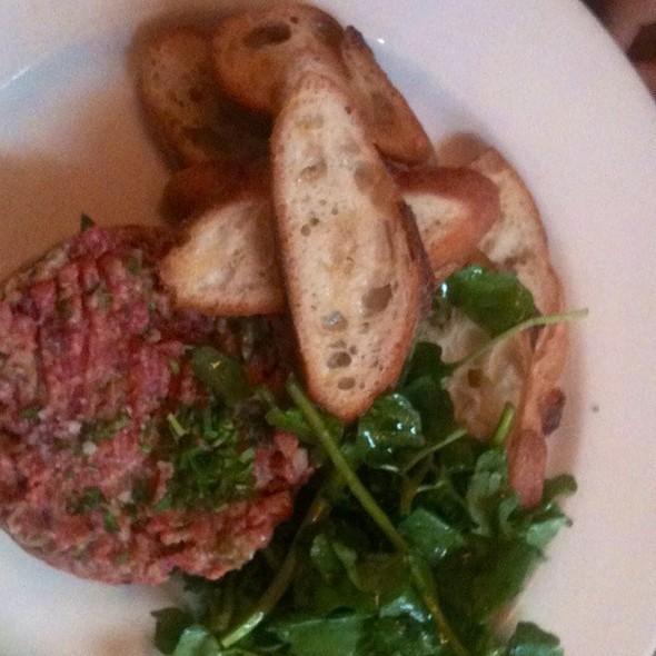 steak tartare @ Balthazar Restaurant