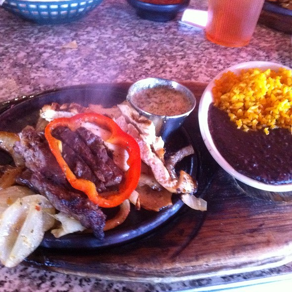 Mixed Chicken And Steak Fajitas For 2
