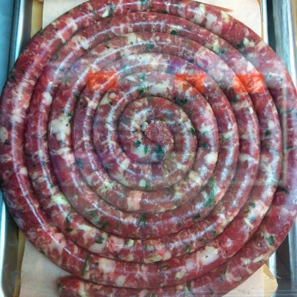 House Made Italian Sausage @ Del Presta Meats Italian Deli