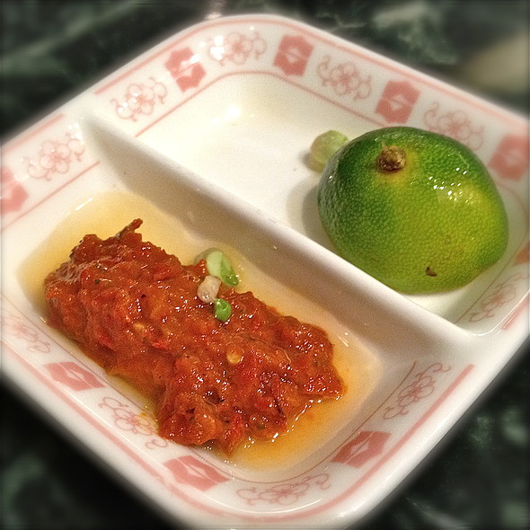 Sambal Belacan @ Nyonya & Baba Peranakan Cuisine (VivoCity)