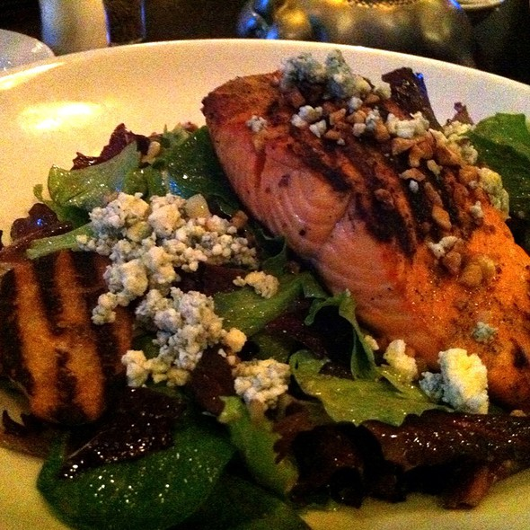 Grilled Salmon Salad - Arnie Morton's The Steakhouse - Burbank, Burbank, CA