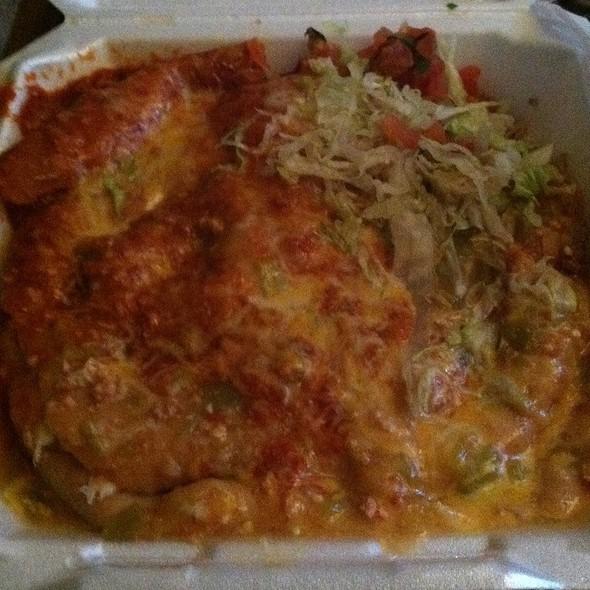 Ground Beef & Potato Sopapilla @ Jack-N-Grill