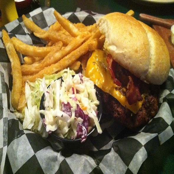 Bacon Cheese Burger @ Finley's Restaurant