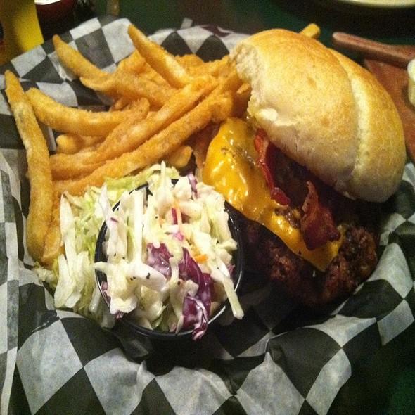 Bacon Cheese Burger @ Finley's Restaurant