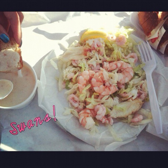 Seafood Salad @ Swan Oyster Depot