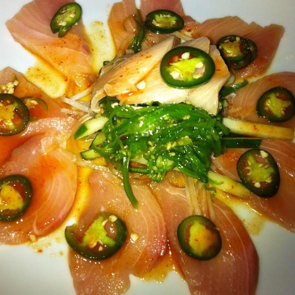 Yellowtail Jalepeno Appetizer @ Sushi Yama