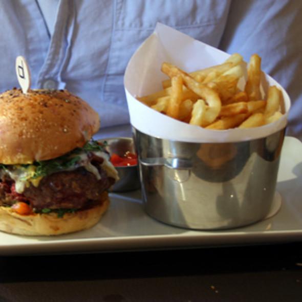 Burger @ Bar Boulud @ Mandarin Oriental Hyde Park