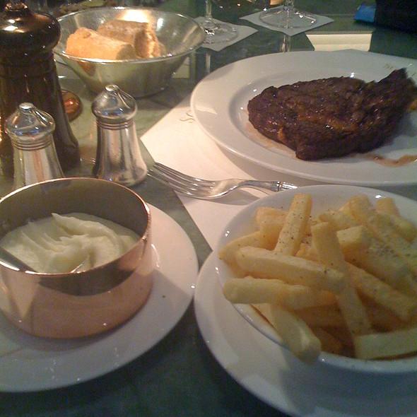 Ribeye Steak @ Scott's