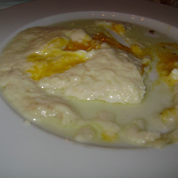 Fried Eggs with Staka @ Milos tou Kerata