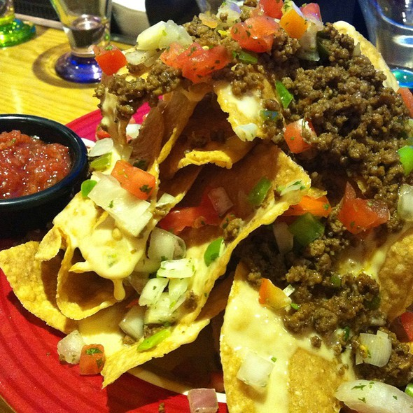 Friday's Ball Park Nachos @ TGI Friday's