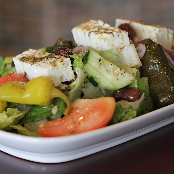 Greek Salad @ Opa! mezze grill