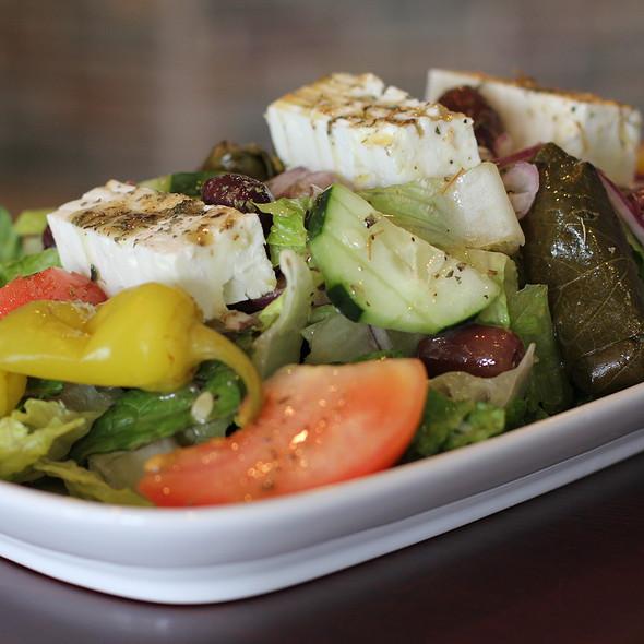 Greek Salad @ Opa! mezze grill