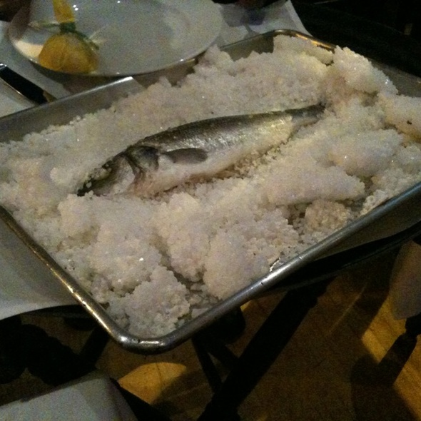 whole branzino - Mourayo, Washington, DC