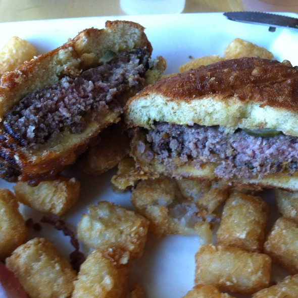 Deep Fried Cheeseburger @ Jerome Bettis Grille 36
