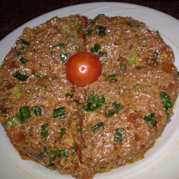 Vegetarian Tomato Kibbie