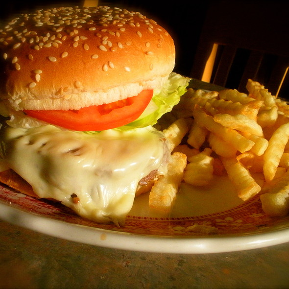 Cheeseburger And Fries @ West Goshen Deli & Restaurant