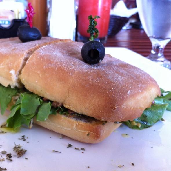 Vegetarian sandwich @ La Bella Vita