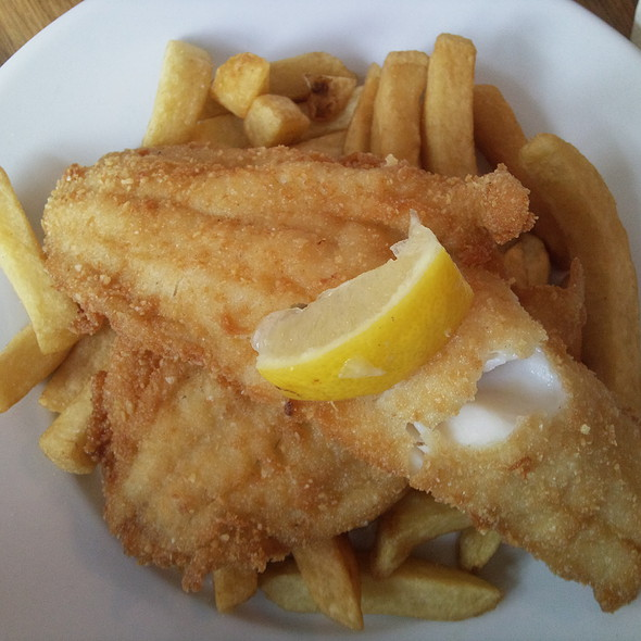 Fish and Chips @ Kerbisher & Malt
