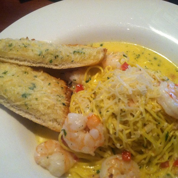 Shrimp Scampi With Garlic Tabasco Butter Sauce - Mitchell's Fish Market - Cincinnati (West Chester), West Chester, OH