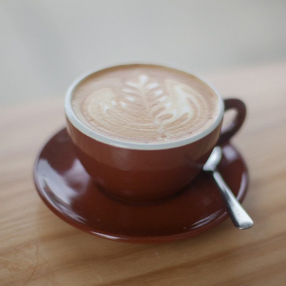 Latte @ Blue Bottle Coffee Roastery
